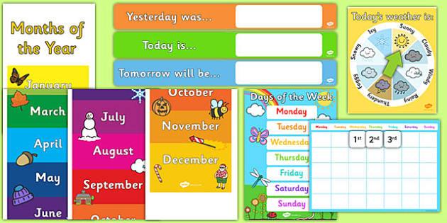 Ready Made Calendar Display Pack - australia, ready made, display, calendar, pack