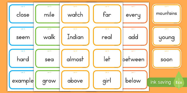 Fry Words The Third Hundred Flashcards