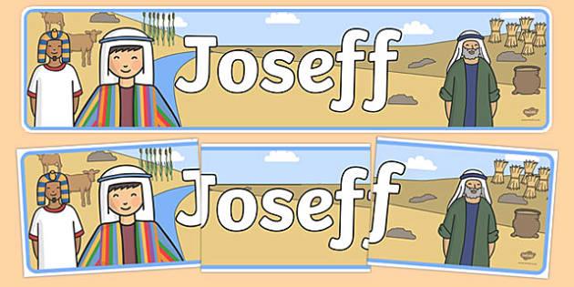Baner Joseff - welsh, cymraeg, baner, joseff, baner joseff, wales