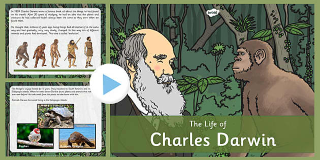 Scientists Charles Darwin Primary Resources - The lives of signif