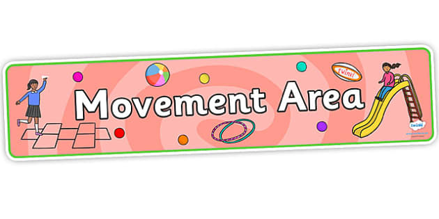 Movement Area Display Banner - movement area display banner, display banner, movement area banner, movement area, display banner, movement banner