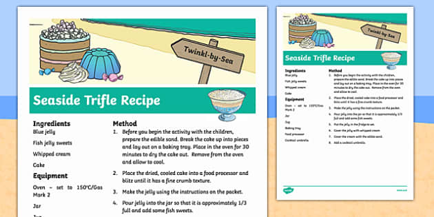 Seaside Trifle Recipe