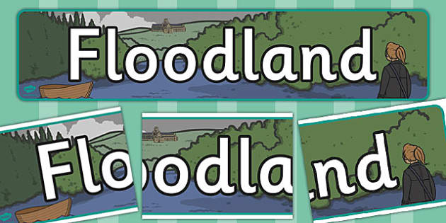Floodland Display Banner - floodland, display banner, display