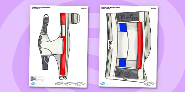 Space Printable Role Play Arms - space, role-play, arms, printable