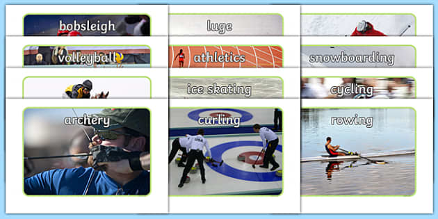Summer and Winter Events Display Photo Pack - Rio, Olympics, winter, summer, understanding the world, comparing, similarities and differences, events, sports, photos