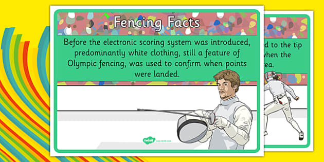 The Olympics Fencing Display Facts - the olympics, rio olympics, 2016 olympics, rio 2016, fencing, display facts