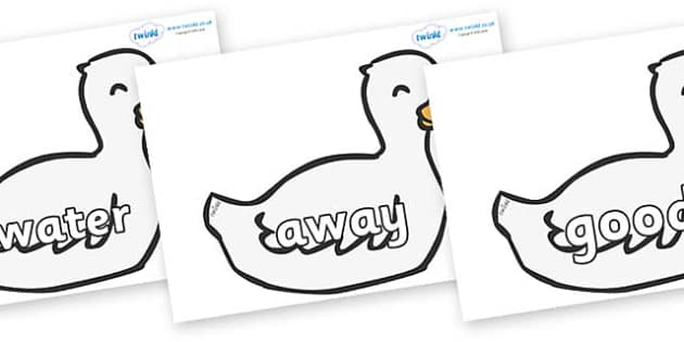 Next 200 Common Words on Mother Duck - Next 200 Common Words on  - DfES Letters and Sounds, Letters and Sounds, Letters and sounds words, Common words, 200 common words
