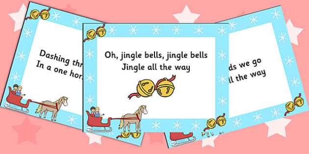 Jingle Bells Christmas PowerPoint - christmas, powerpoint