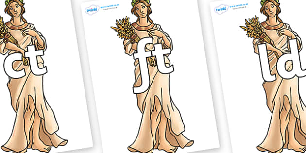 Final Letter Blends on Demeter - Final Letters, final letter, letter blend, letter blends, consonant, consonants, digraph, trigraph, literacy, alphabet, letters, foundation stage literacy