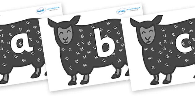Phoneme Set on Black Sheep to Support Teaching on Brown Bear, Brown Bear - Phoneme set, phonemes, phoneme, Letters and Sounds, DfES, display, Phase 1, Phase 2, Phase 3, Phase 5, Foundation, Literacy