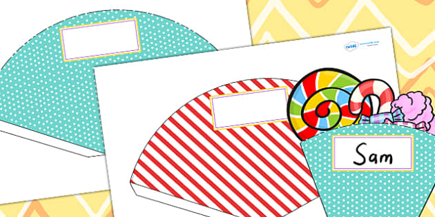 Circus Themed Birthday Party Food Cones - parties, role play