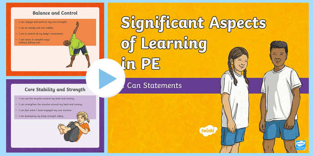 Significant Aspects of Learning In PE  I can statements Assessment Tracker  - CfE Health and Wellbeing Resources, PE, Physical Education, Planning, significant aspects of learnin