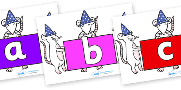 Phoneme Set on Magic Mice - Phoneme set, phonemes, phoneme, Letters and Sounds, DfES, display, Phase 1, Phase 2, Phase 3, Phase 5, Foundation, Literacy