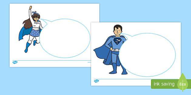 KS1 Anti Bullying Power For Good Speech Bubble Activity Sheet