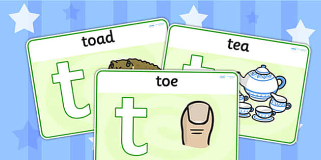Initial t Sound Playdough Mats - initial t, sound, sounds, t, mat