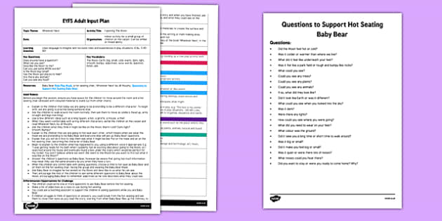 Exploring the Moon Adult Input Plan and Resource Pack to Support Teaching on Whatever Next