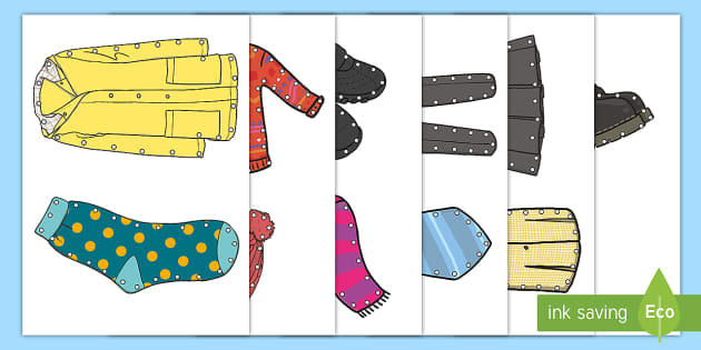 Clothes Threading Cut-Outs - threading cards, fine motor skills, activities, junior infants, senior infants, early years, foundat