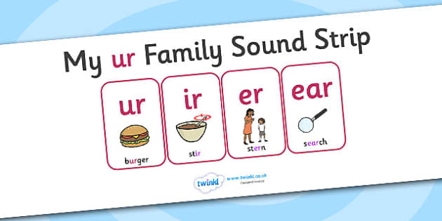 My ur Family Sound Strip - family sound strip, sound strip, my family sound strip, my ur sound strip, ur sound strip, ur family sound strip