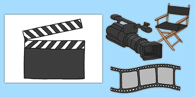 Editable Movie Themed A4 Cut Outs - editable, movie, a4, cut outs, activity, display