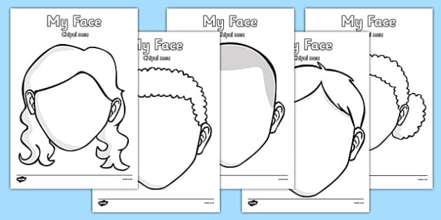 Blank Faces Templates Romanian Translation - romanian, face, features, eye, template, mouth, lips, ourselves, all about me, emotions, feelings, face, faces
