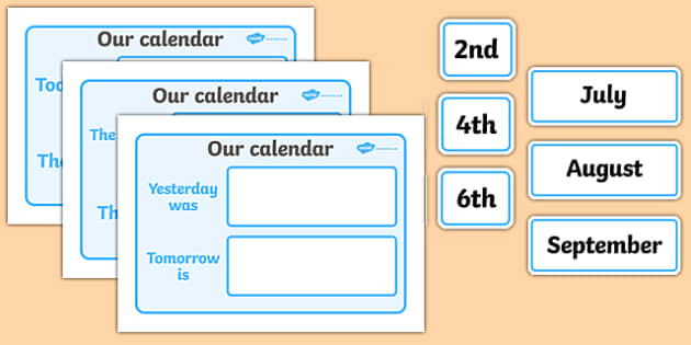 Our Classroom Calendar - calendar, classroom calendar, months of the year, weather chart, display, banner, sign, poster