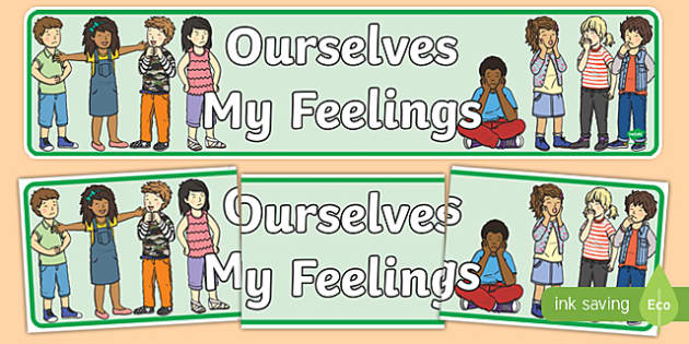 Ourselves: My Feelings Display Banner