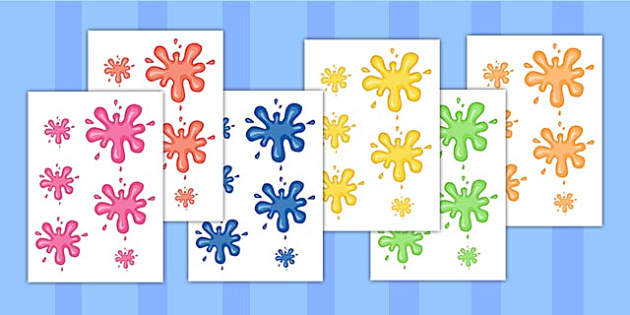 Splat Size Ordering - splat, size, order, shape, matching, sizes