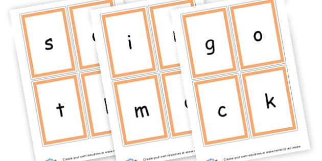 Phase 2 Sounds Cards - Phase 2 Visual Aids Primary Resources, Phase One, Letters, sounds