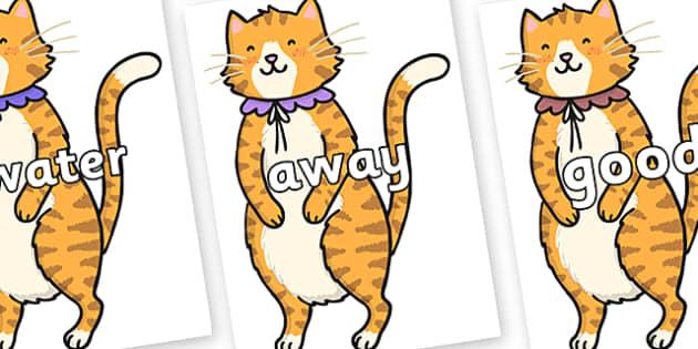 Next 200 Common Words on Pussycat - Next 200 Common Words on  - DfES Letters and Sounds, Letters and Sounds, Letters and sounds words, Common words, 200 common words
