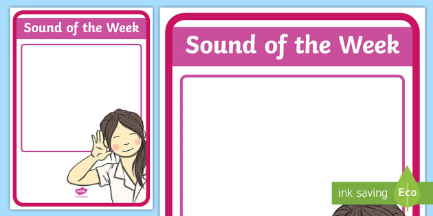 Sound of the Week Display Poster - New Zealand Class Management, sounds, letters, sound of the week