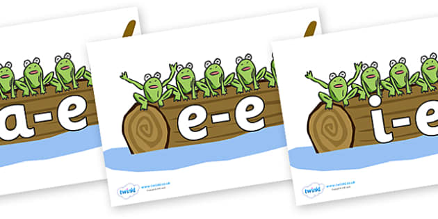 Modifying E Letters on Five Speckled Frogs - Modifying E, letters, modify, Phase 5, Phase five, alternative spellings for phonemes, DfES letters and Sounds
