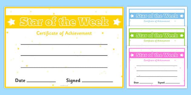 Certificates for Older Children - certificates, older children, older, children, reward, award