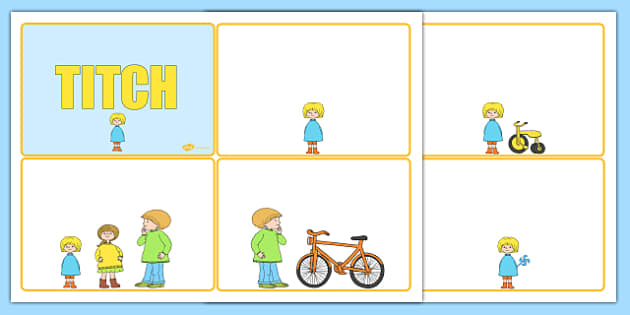 Story Sequencing Cards to Support Teaching on Titch - stories, sequence, books, reading