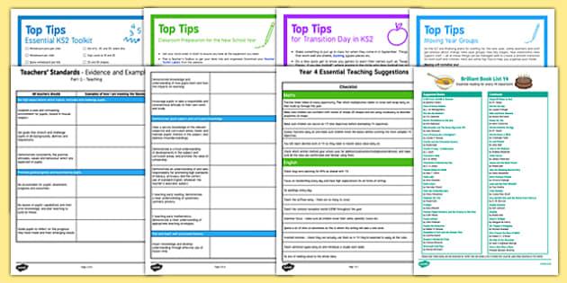 Teaching in Y4 Resource Pack