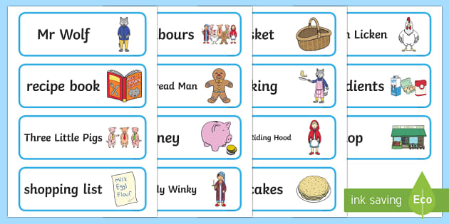 Word Cards to Support Teaching on Mr Wolf's Pancakes - mr wolfs pancakes, word cards