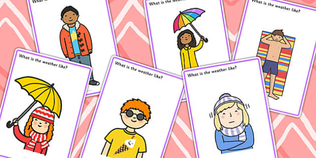 What Is The Weather Like Finish The Picture Inferencing Activity