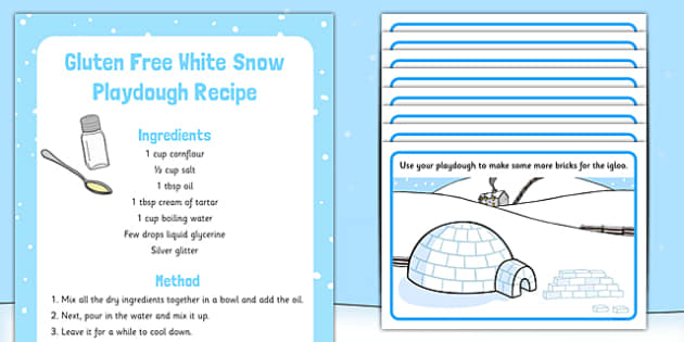 Polar Regions Playdough Recipe and Mat Pack - EYFS, early years, fine motor, malleable
