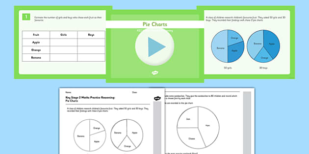 Pie Chart Interpretation Worksheets pie chart chart sheet – Pie Chart Fractions Worksheet