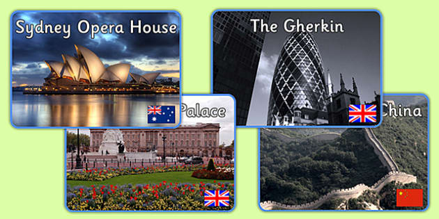 Famous Structures Display Photos - famous structures, display photos, display, photos