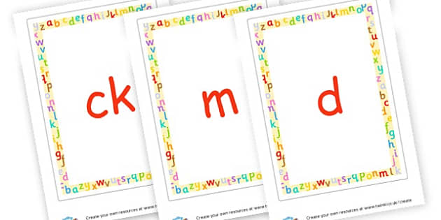 Phonics Cards - EAL Phonics Primary Resources - EAL, phonics, sounds