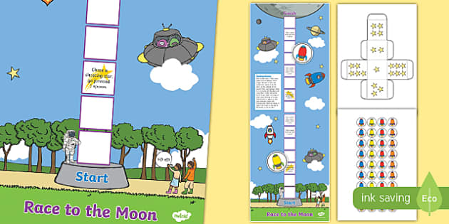 Race to the Moon Game