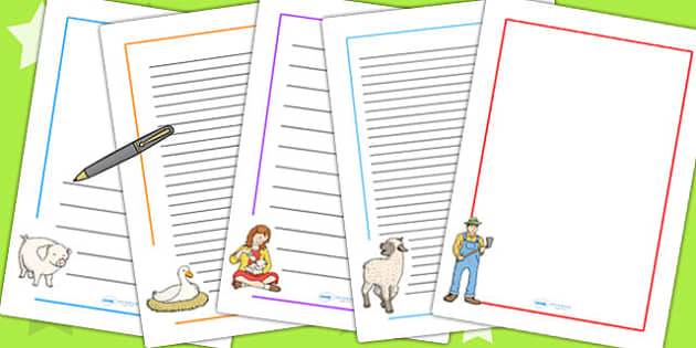 Charlotte's Web Page Borders - story book, page borders, spider