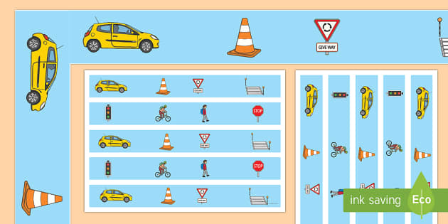 Road Safety Display Borders - road safety, display borders, display, border, road, safety