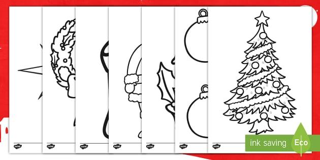 Hojas de colorear: La Navidad - pintar, colorear, colorea, natividad, navidad, navideño - pintar, colorear, colorea, natividad, navidad, navideño