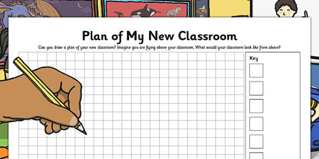 Plan of My New Classroom - plan, new classroom, new, classroom
