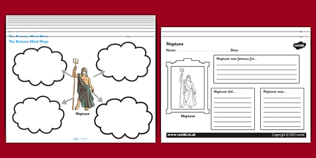 Roman Mind Maps Writing Frames - romans, the romans, roman mind maps, roman worksheets, roman gods, roman people, roman buildings, roman culture, ks2 history, ks2