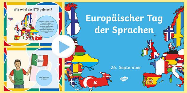 Europäischer Tag der Sprachen PowerPoint
