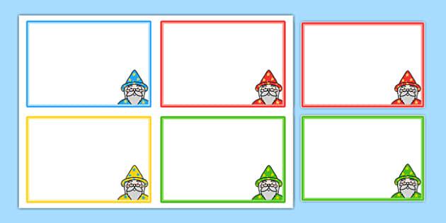 Magic Maths Area Editable Challenge Card Templates - maths, cards