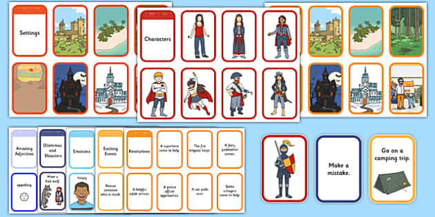 Story Writing Prompt Cards Pack - story writing, prompts, activity, pack, creative writing, story planning, plot planner, plot, cards, ks1, ks2, adventure, stories, ficion, narrative, storytelling, oral, sequence, plan, write