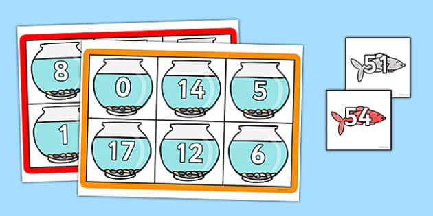 Number Bonds to 100 Bingo - number bonds, 100, bingo, game, activity